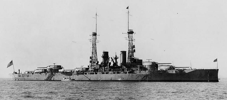 USS Texas off Hampton Roads, Va. Dec. 12, 1916 (GPO photo))